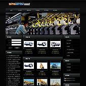 模板网站-企业网站-机械A14