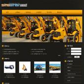 模板网站-企业网站-机械A26